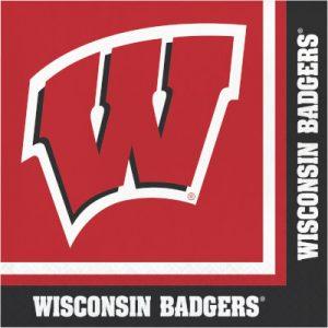 University Of Wisconsin Luncheon Napkin 240 Ct