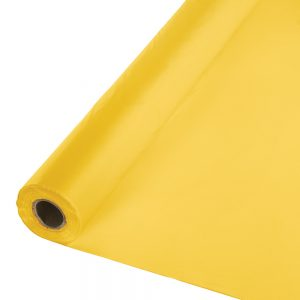 "School Bus Yellow Banquet Roll 40"" X 100' 1 Ct"
