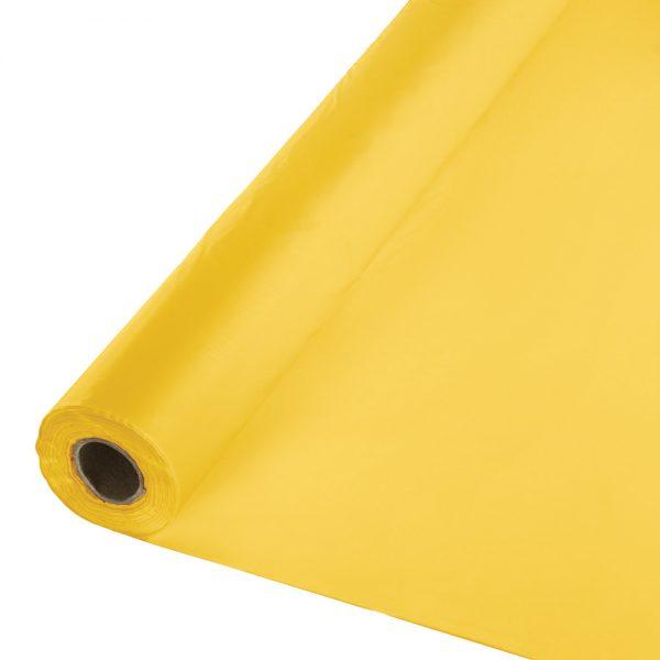 "School Bus Yellow Banquet Roll 40"" X 100' 6 Ct"