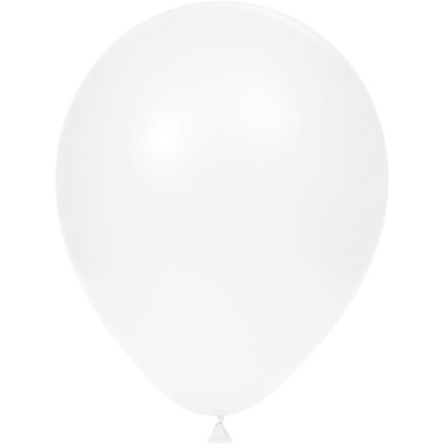 "White 12"" Latex Balloons 180 Ct"