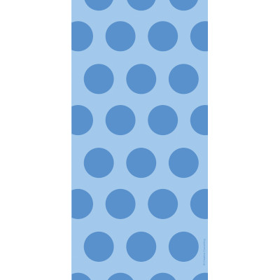 Cello Bags - Two Tone Blue Dots 240 Ct