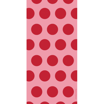 Cello Bags - Two Tone Classic Red Dots 240 Ct