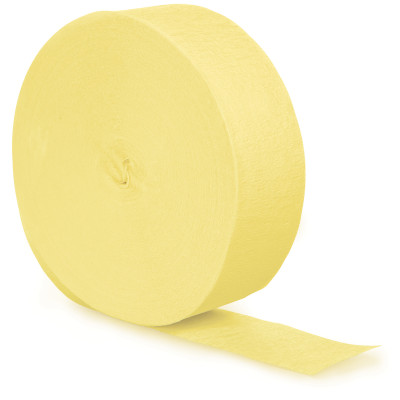 Mimosa Crepe Streamers 81' 12 Ct