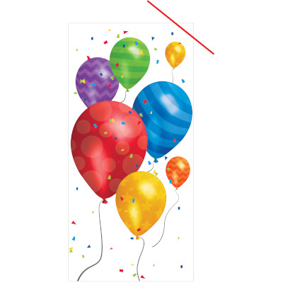 Cello Bags - Balloon Blast Lg 240 Ct