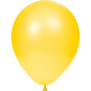 "School Bus Yellow 12"" Latex Balloons 180 Ct"