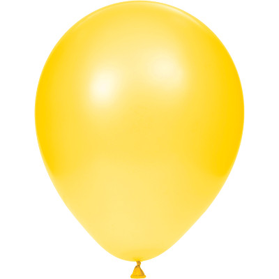"School Bus Yellow 12"" Latex Balloons 180 Ct"