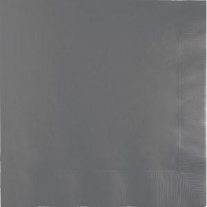 Glamour Gray Beverage Napkin 2Ply 600 Ct