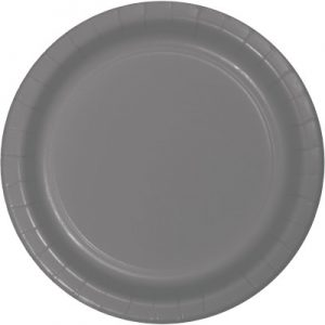 Gray Party Tableware