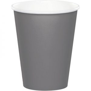 Glamour Gray Hot/Cold Cups 9Oz. 240 Ct
