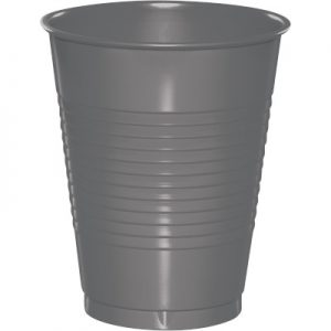 Glamour Gray Plastic Cups 16 Oz. 240 Ct