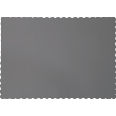 Glamour Gray Paper Placemats 600 Ct
