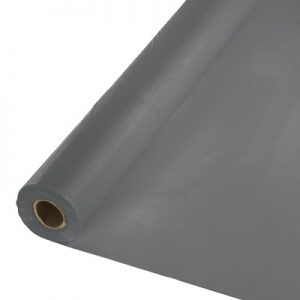 "Glamour Gray Banquet Roll 40"" X 100' 1 Ct"