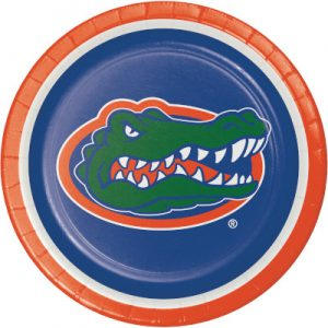 University Of Florida Lunch Plate 96 Ct