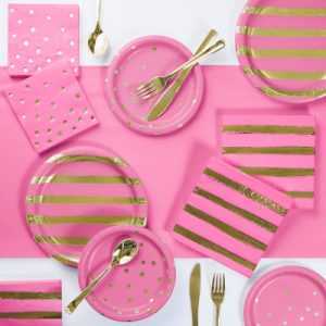 Foil Party Tableware