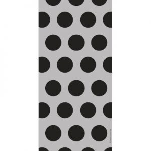 Cello Bags - Two Tone Black Dots 240 Ct