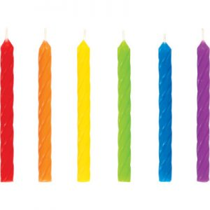 Candles Rainbow 288 Ct