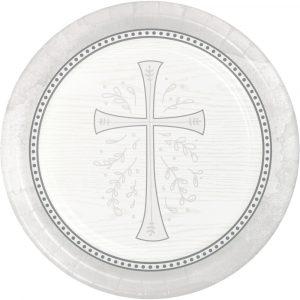 religious paper plates
