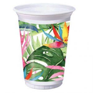 luau plastic cup