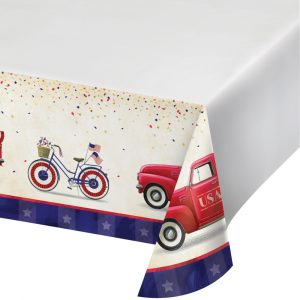 patriotic tablecovers