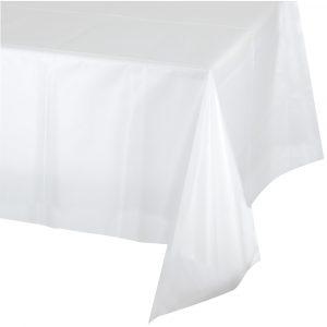 clear rectangular tablecover