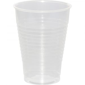 clear 12 oz cup
