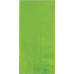 lime green dinner napkin