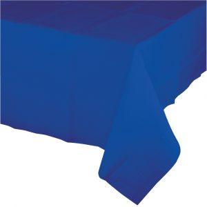 cobalt rectangular polylined tablecover